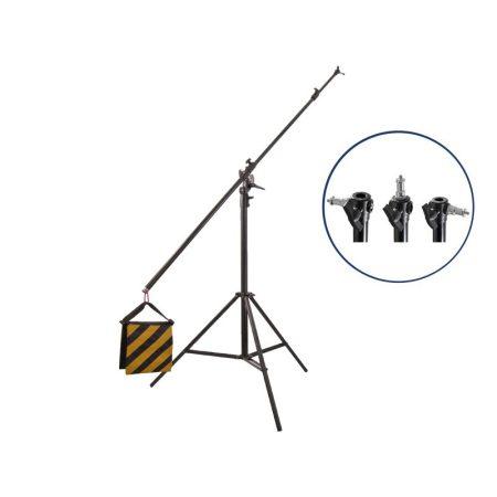 Boom állvány 5m (200cm + 300cm) -TP20