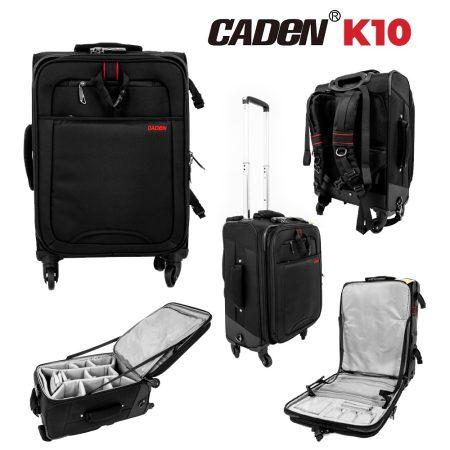 Caden K10 fotós hátitáska, bőrönd