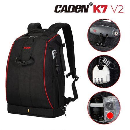 Caden K7 V2 fotós hátizsák, hátitáska