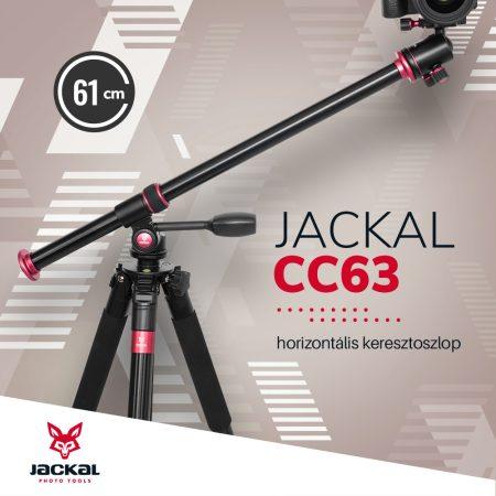 Jackal CC63 horizontális keresztoszlop állvány fej