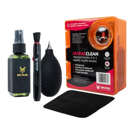 Jackal Clean 4in1 objektív, optika tisztító készlet