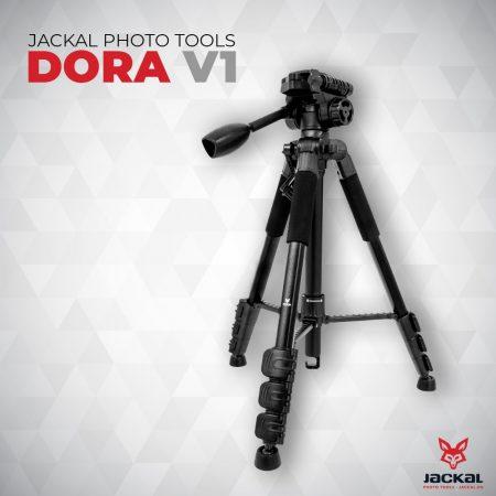 Jackal DORA V1 tripod, fényképező állvány