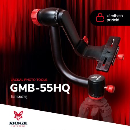 Jackal GMB-55HQ gimbal fej, állványfej