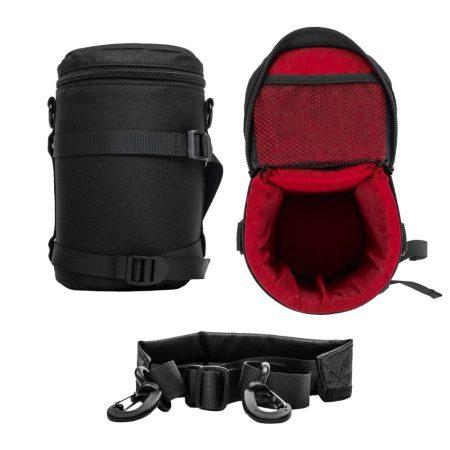 Jackal LFH-L objektív tok, táska extra védelemmel L méret