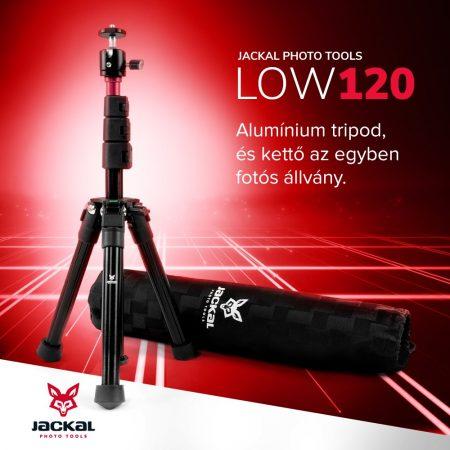 Jackal LOW120 fotós állvány