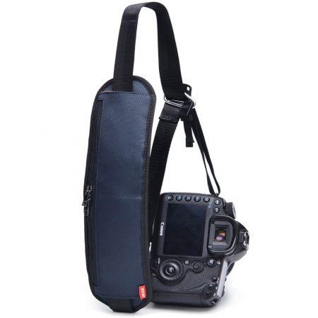 Jackal NT02 párnázott fényképező nyakpánt, kamera szíj cipzáras zsebekkel