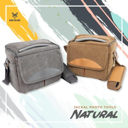 Jackal Natural fotós, fényképező táska