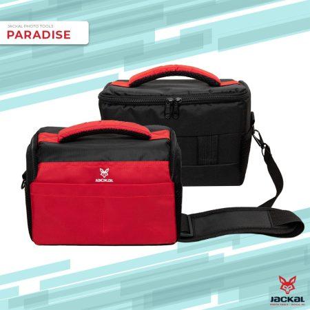 Jackal Paradise fotós, fényképező táska