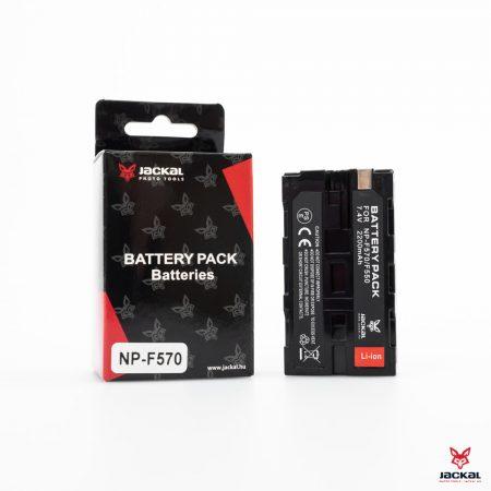 Jackal Sony NP-F570/F550 utángyártott akkumulátor