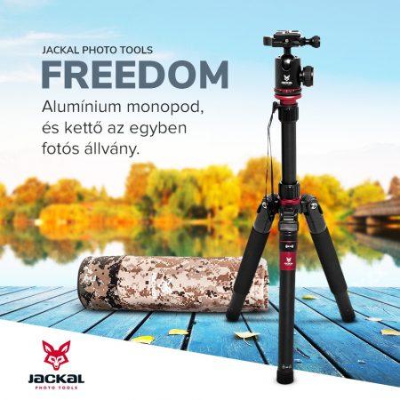 Jackal Freedom fényképező állvány, tripod