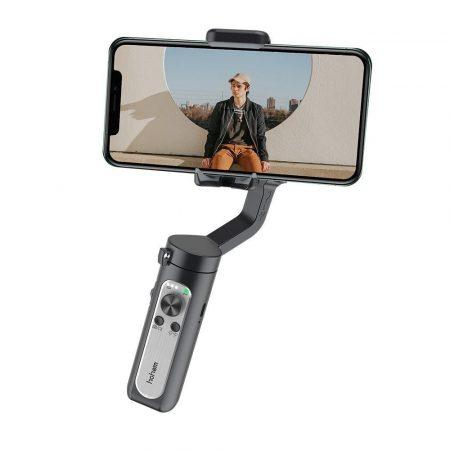Hohem iSteady X kézi mobiltelefon stabilizátor fekete